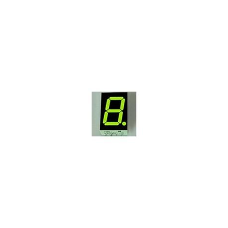WYŚWIETLACZ LED 05613BG-B 14,2mm ZIELONY - GREEN