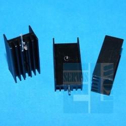 Radiato DY-CN/3 czerniony 30mm H 15mm 11mm