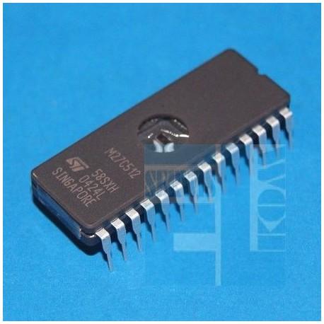 EPROM 27C512 - 10FI DIP28 DIL