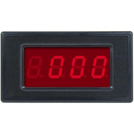 WOLTOMIERZ PANELOWY 0 - 300V AC LED 3,5 cyfry
