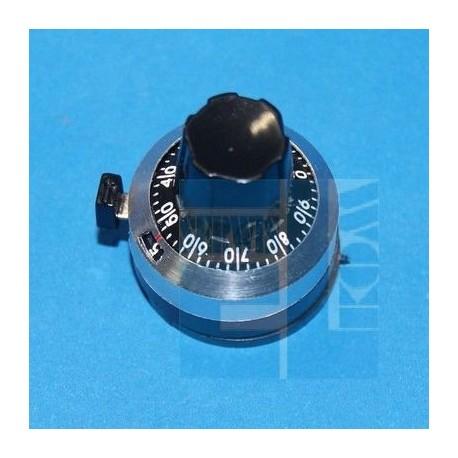 LICZNIK OBROTÓW 10-OBROTOWY WXD3590 OŚ 6,35mm