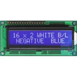 WYŚWIETLACZ LCD 2x16 E W1B 16x2 CYRYLICA NIEBIESKI