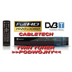 TUNER CYFROWY DVB-T MPEG4 TWIN do TV CYFROWEJ /0086