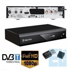NOWOŚĆ TUNER CYFROWY DVB-T z WiFi MPEG4 HD DO TV CYFROWEJ /00191