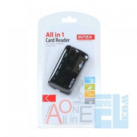 CZYTNIK KART PAMIĘCI ALL IN ONE HQ INTEX USB 2.0