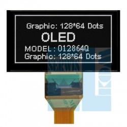 WYŚWIETLACZ LCD OLED 128x64 GRAFICZNY MI012864 NEGATYW BIAŁY