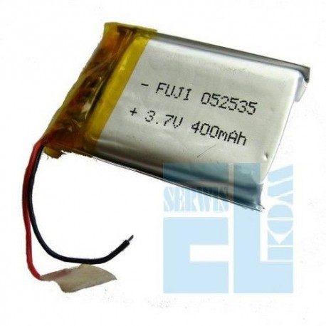 AKUMULATOR OGNIWO Li-Polymer 400mAh 3,7V T.2