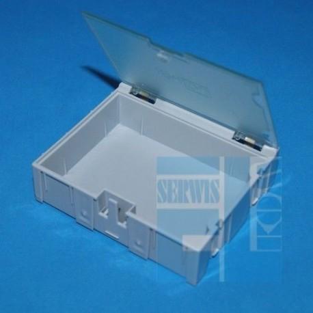 POJEMNIK MODUŁOWY ORGANIZER PK-3 Z KLAPKĄ 75x63x21,5mm