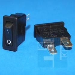 PRZEŁĄCZNIK R10 H8800 VB KLAWISZOWY CZARNY 10A/250V 0-1 ARCOLECTRIC