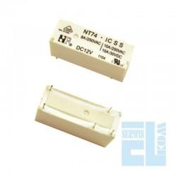 PRZEKAŹNIK NT74-1CSN8 12V DC 1CS 1P 8A /JQX68F