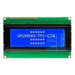 WYŚWIETLACZ LCD 4x20 WH2004 A TMI CT LED