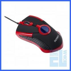 MYSZ OPTYCZNA OP98 RED USB INTEX /K0318