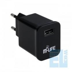 ŁADOWARKA SIECIOWA USB 2A M-LIFE /ML0002