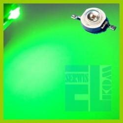 DIODA LED POWER 1W ZIELONA 70lm 140st ALS-P1000mW