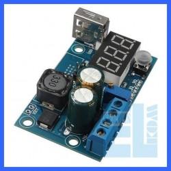 ZASILACZ PRZETWORNICA NAPIĘCIA XL2596 LED USB MODUŁ