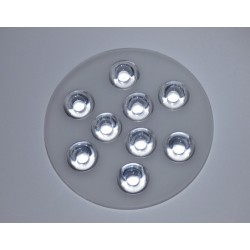 SOCZEWKA DO POWER LED 9xLED 45st. SPL11