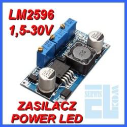 ZASILACZ ŁADOWARKA POWER LED LM2596 MODUŁ