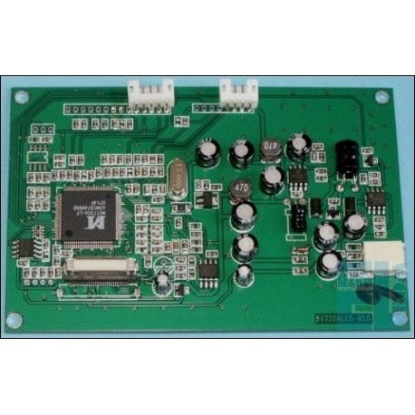 """PANEL LCD TFT 6"""" 520x288 KOLOROWY RGB podświetlenie LED, z wejściem composite VIDEO"""