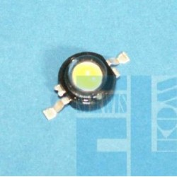 DIODA POWER LED 3W BIAŁA 3000mW 105lm 125st.