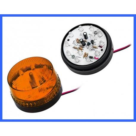 SYGNALIZATOR OPTYCZNY LED POMARAŃCZOWY HC-05 /26-426