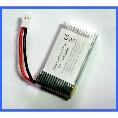 AKUMULATOR Li-Polymer 600mAh 3,7V SYMA do DRONÓW 43x24x8,5