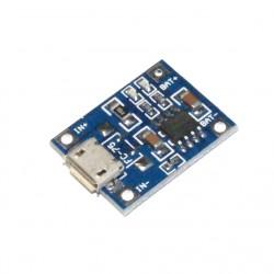 MODUŁ ŁADOWARKI Akumulatorów Li-ION 3,7V MICRO USB