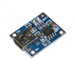 MODUŁ ŁADOWARKI Akumulatorów Li-polymer 3,7V Mini usb