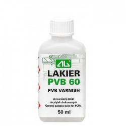 LAKIER PVB60 50ml AG ZABEZPIECZAJĄCY DO PŁYTEK PCB