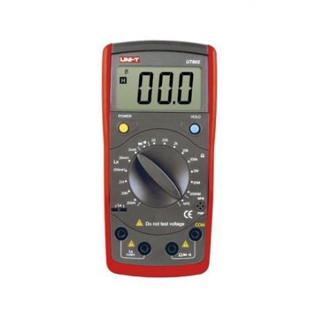 MIERNIK CYFROWY UT602 UNI-T R L 200H INDUKCYJNOŚĆ UT-602