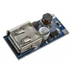 Moduł: przetwornica MP 0.9-5V DC na 5V DC z wyjściem USB kontrolką LED