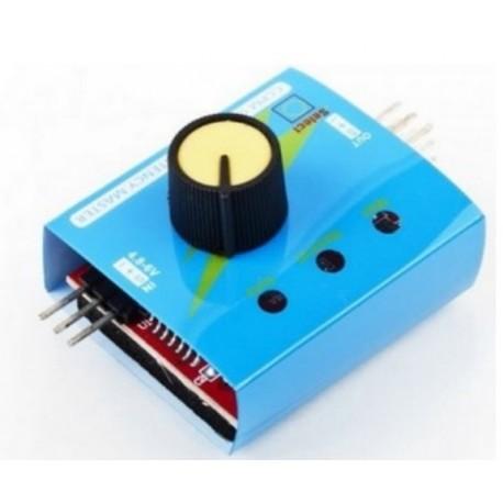 Moduł TEST_SERVE zgodny z Arduino TESTER SERW odpowiednik HS-81 odpowiednik HS-82 odpowiednik SG-905