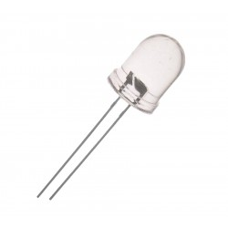 DIODA LED 10mm NIEBIESKA 9-10cd 35st. /372A