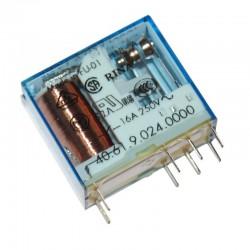 PRZEKAŹNIK FINDER F 40.61.9.024 16A 24V DC 1P / RM83