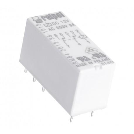 PRZEKAŹNIK MOCY RELPOL RM84 12V DC 2x 8A 2P