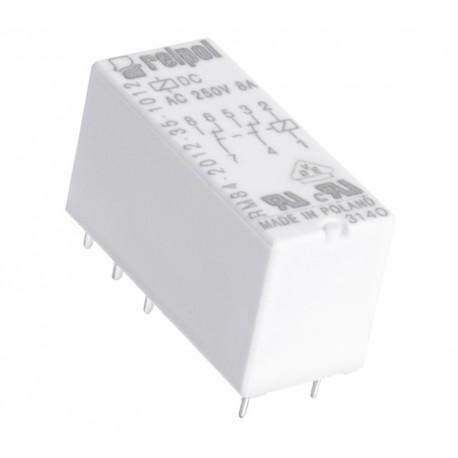 PRZEKAŹNIK MOCY RELPOL RM84 5V DC 2x 8A 2P RM84-2012-35-1005