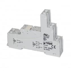 GNIAZDO PODSTAWKA PRZEKAŹNIKA GZ80 GZM80 DIN 300V/10A