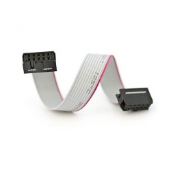 Zestaw Kabel 30cm połączeniowy IDC-16 16-PIN AWG GNIAZDO-GNIAZDO /044