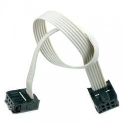 Zestaw Kabel 30cm połączeniowy IDC-6 6-PIN AWG GNIAZDO-GNIAZDO /055 ARDUINO