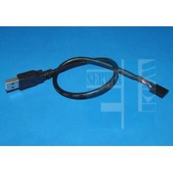 KABEL USB WTYK A na ZŁĄCZE ŻEŃSKIE 5-PIN L-30cm ARDUINO /101