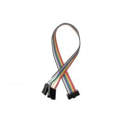 Kabel połączeniowy IDC-10 10-PIN AWG GNIAZDO - PINY ŻEŃSKIE 10-P /0104 ARDUINO