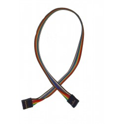 Kabel połączeniowy ŻEŃSKI 2x5 PIN 40cm GNIAZDO PINY ŻEŃSKIE /0105