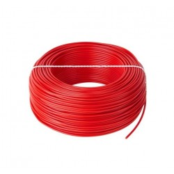 PRZEWÓD LGY 1x 0,5mm2 CZERWONY LINKA H05V-K PVC-40...+70°C