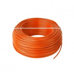 PRZEWÓD LGY 1x 0,5mm2 POMARAŃCZ LINKA H05V-K PVC-40...+70°C