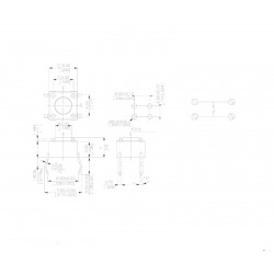MIKROPRZYCISK 6mm A06 6x6 4-P H-10mm