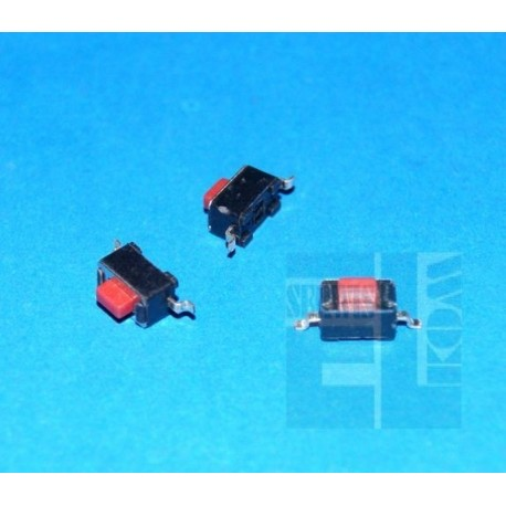 MIKROPRZYCISK SMD 3,5x6x5 1,5mm CZERWONY 15976