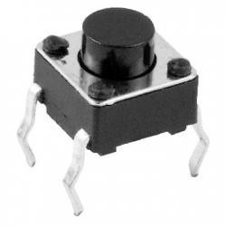 MIKROPRZYCISK 0,8mm A06 6x6 4-P H-4,3mm