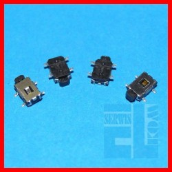 MIKROPRZYCISK TACT SWITCH SMD KĄTOWY 7,5/1,4x4 1,9mm 50mA 12VDC 160gf POWER TABLET MP4