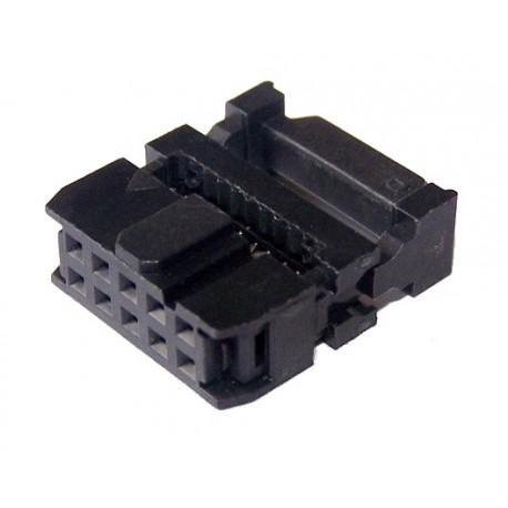 ZŁĄCZE NA TAŚMĘ AWG28 FC10 IDC10 10-PIN GNIAZDO