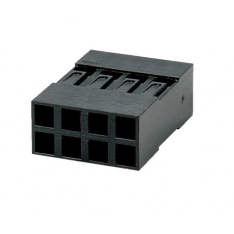 GNIAZDO BLD-08 2x4 PROSTE 2,54mm - OBUDOWA do PINY BL-T