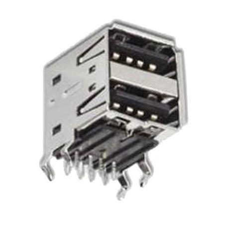 USB GNIAZDO TYP 2x